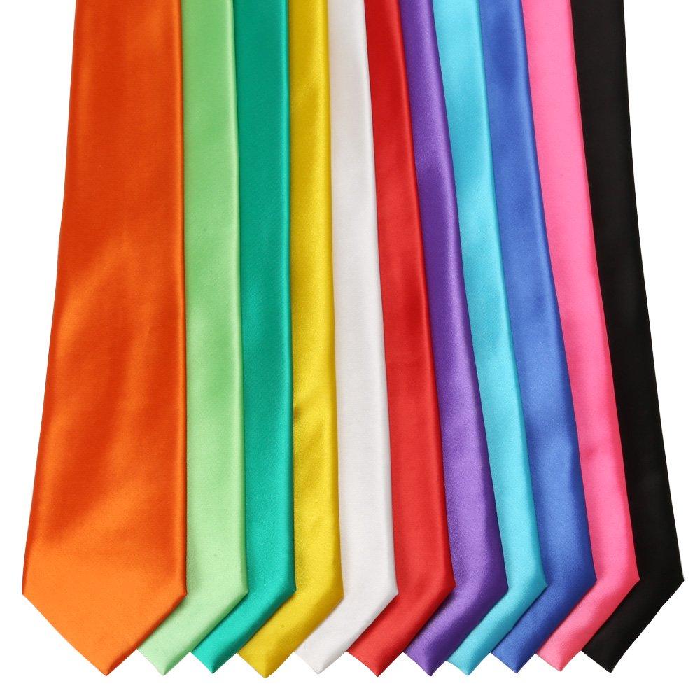 カラータイレギュラー 黒 赤 白 紫 青 緑 黄緑 サックス 黄 オレンジ ピンク