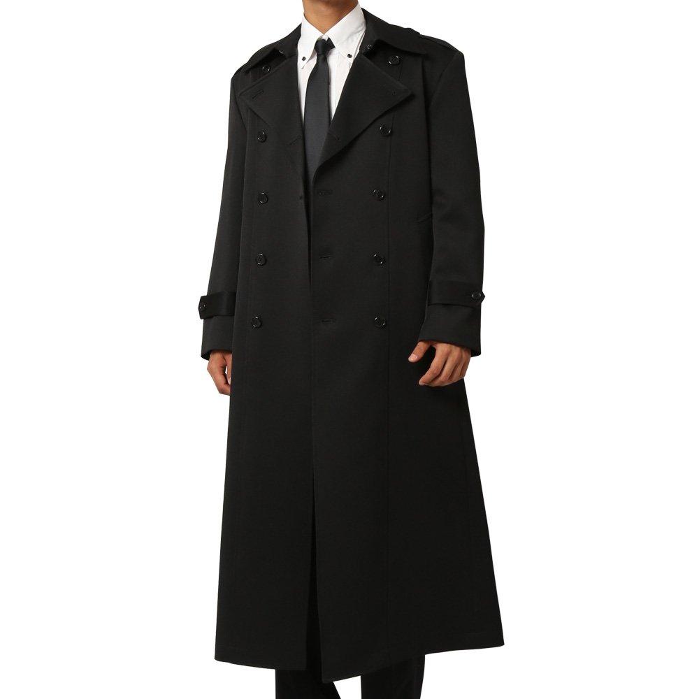 ダブルマキシロングコート メンズ 衣装|カラー:ブラック