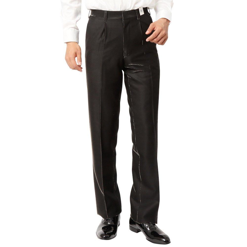 ラメ糸素材 スラックス パンツ 男女兼用 衣装|カラー:ゴールド