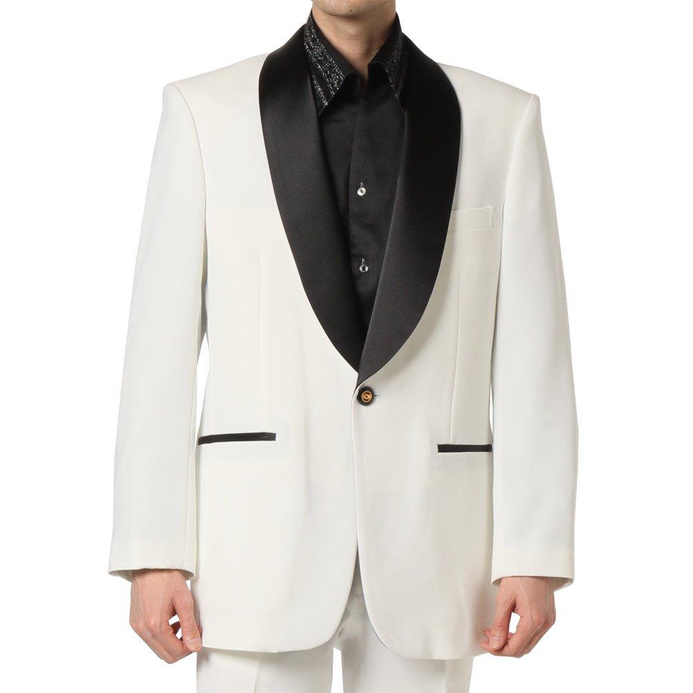 【新色】タキシードジャケット 男女兼用 衣装|カラー:ホワイト