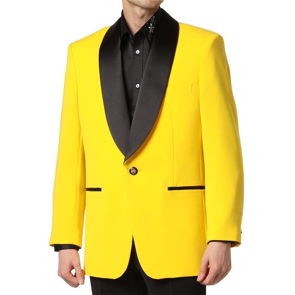 【新色】タキシードジャケット 男女兼用 衣装|カラー:イエロー