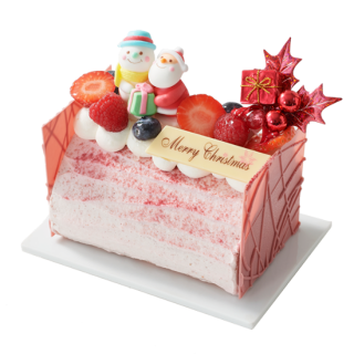 【予約販売 】苺のビッシュ・ド・ノエル 13cm