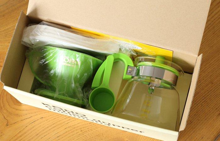 KONO式ドリップセット 4人用 ライトグリーン