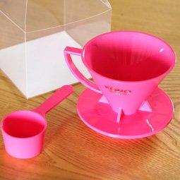 KONO式ドリッパー 2人用 ピンク