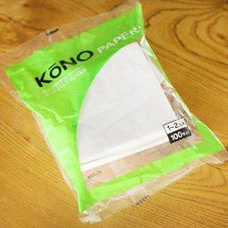 KONO式円錐ペーパー 2人用(白)