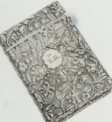 【アメリカンスターリングシルバー92.5%】カードケース(小)