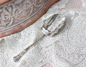 英国アンティーク銀器【純銀】1903年 キャディースプーン William Devenport