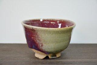 辰砂抹茶碗
