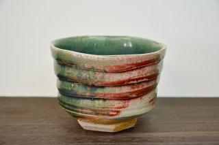 緑釉抹茶碗