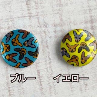 【完売】光る缶バッジ/ミニピンがいっぱい!(ブルー、イエロー)