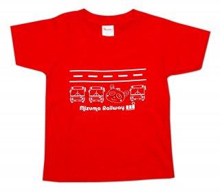 水間鉄道オリジナルキッズTシャツ01(水間鉄道株式会社)