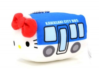 市バス × ハローキティ バス型携帯クリーナー(川崎市交通局)