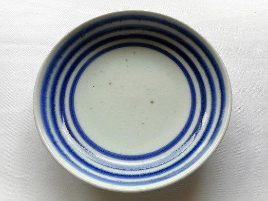砥部焼 中田窯 6寸丸皿(こま)