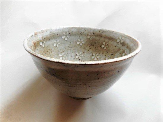 三島柄(花) 平丼