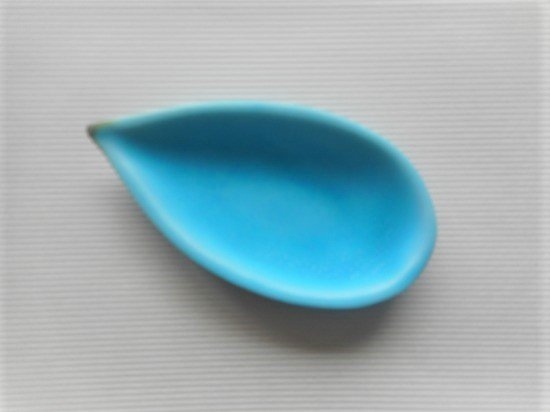 佐々木綾子(AYAKO SASAKI porcelain)leaf#1(ターコイズ)