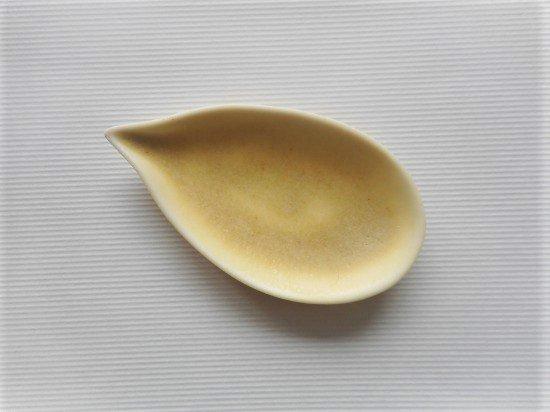 佐々木綾子(AYAKO SASAKI porcelain)leaf#1(イエロー)