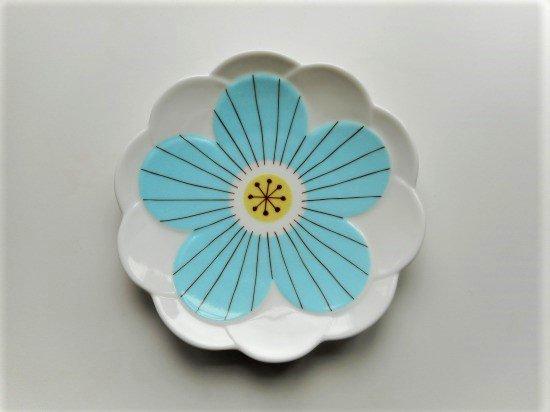 ハレクタニ ハナ取り皿(ブルー)
