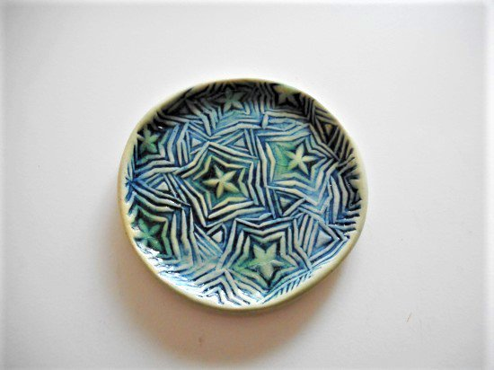 TOMI-kobo 星柄の小皿