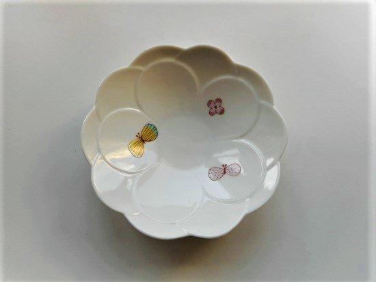 ハレクタニ チョウ中鉢(ピンク)
