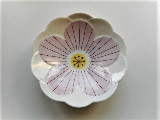 ハレクタニ ハナ中鉢(ピンク)