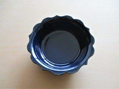 山本たろう(魚雲窯) ルリ釉小鉢