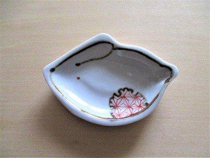 九谷焼 豆皿(うさぎ)