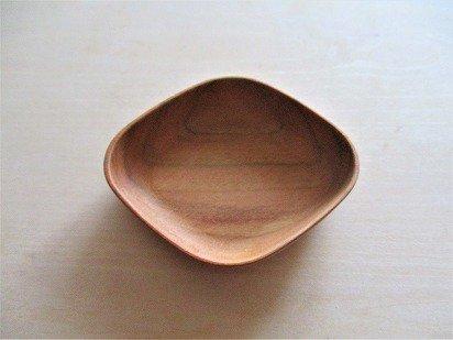 四十沢木材工芸 KITO 豆皿(ひし)