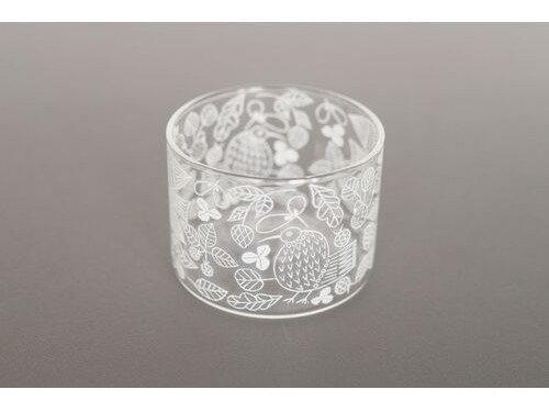 松尾ミユキ Heat resistant Low glass 【Bird & Leaf】