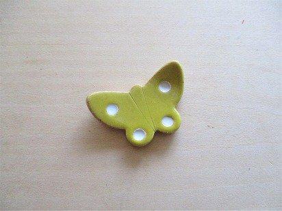 黄色い蝶の箸置き(小)