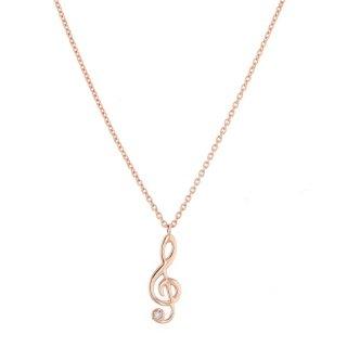 Mary K10ロゼゴールド ダイヤモンドネックレス