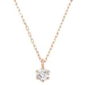 K10PG ダイヤモンドネックレス