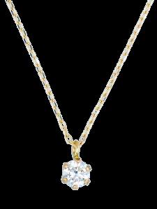 K10YG ダイヤモンドネックレス