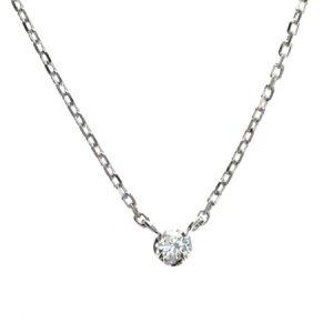 SVダイヤモンドネックレス