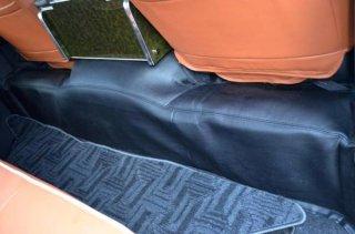 200系 ハイエース 1型2型3型4型 S-GL ワイド 収納ポケットなし リアデッキカバー PVCレザー製