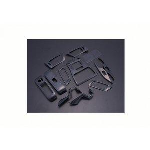 アルファード ヴェルファイア 30系インテリアパネル 3D 立体 内装 パネル 黒木目 12ピース  ZERO