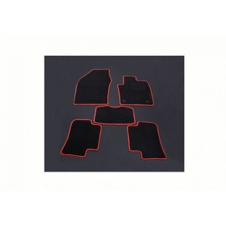 フロアマット C-HR NGX50 CHR ラゲッジマット ガソリン車用 ブラック 6点セット  ZERO