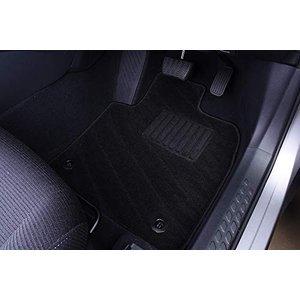 フロアマット C-HR NGX50 CHR ラゲッジマット ガソリン車用 織り柄 ブラック 6点セット ZERO