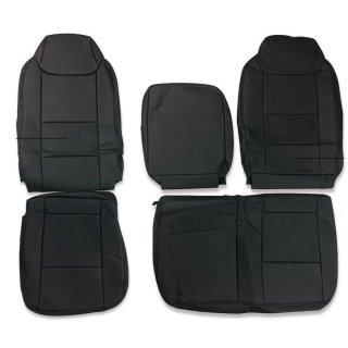 いすゞ エルフ 5型 ワイドキャブ シートカバー 運転席 助手席 セット パンチングレザー  ZERO