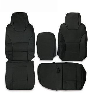 シートカバー いすゞ 07 エルフ 標準用 パンチング 運転席 助手席 1台分 セット  ZERO