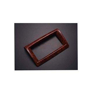 インテリアパネル ナビパネル キャラバン NV350 E26 後期 標準 ワイド 茶木目 ZERO P1071