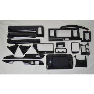 ハイエース 200系 4型 5型 標準 S-GL インテリアアパネル マホガニー