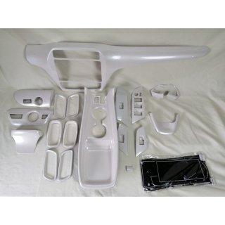 プリウス ZVW 50系 インテリアパネル 3D 19ピース ラバーマット付 パールホワイト