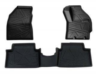 ヤリス/クロス YARIS CROSS 車種専用 保護マット 3D フロアマット 1列目 2列目 F セカンド 水洗 汚れ/傷/水防 耐久性 TPO素材 RMLM104+105