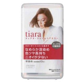 資生堂 ティアラ クリームヘアカラーA 4 <医薬部外品>(1剤 40g・2剤 40g)x3個セット