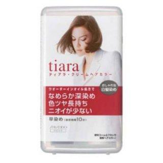 資生堂 ティアラ クリームヘアカラーA 4YG <医薬部外品>(1剤 40g・2剤 40g)x3個セット