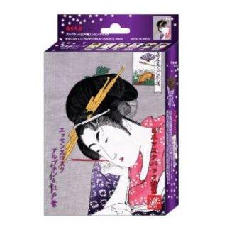 浮世絵シリーズ 歌麿ライン 『扇屋花扇』 アルブチン+江戸紫 エッセンスマスク(10枚入り)