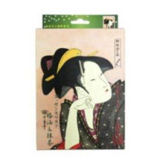 浮世絵シリーズ 歌麿ライン 椿油+抹茶 エッセンスマスク(10枚入り)