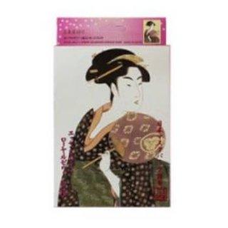 浮世絵シリーズ 歌麿ライン ローヤルゼリー+桜 エッセンスマスク(10枚入り)