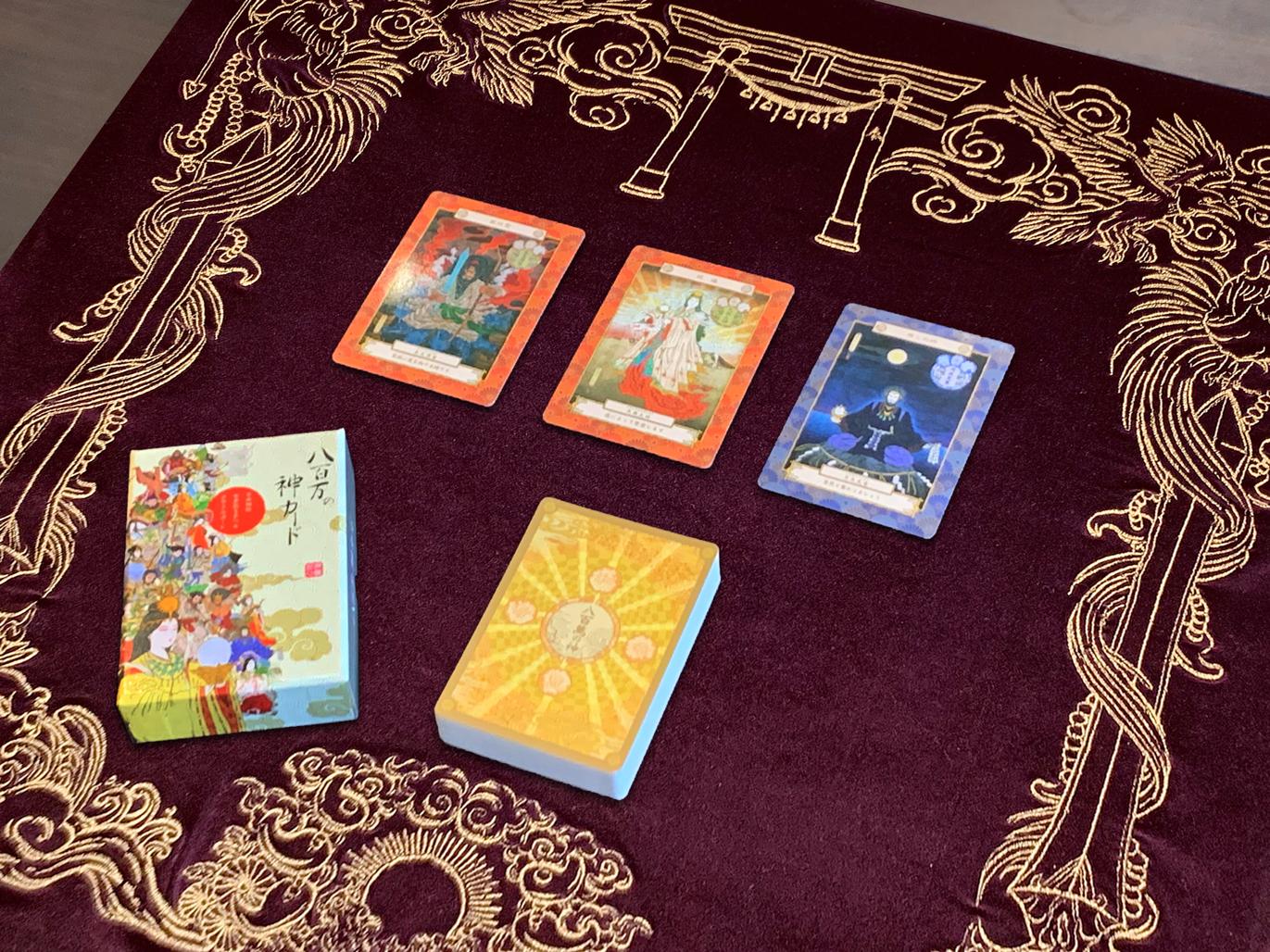 八百万の神カードオリジナルマット