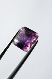 【 MADE TO ORDER 007 】Goethite in Amethyst Ring